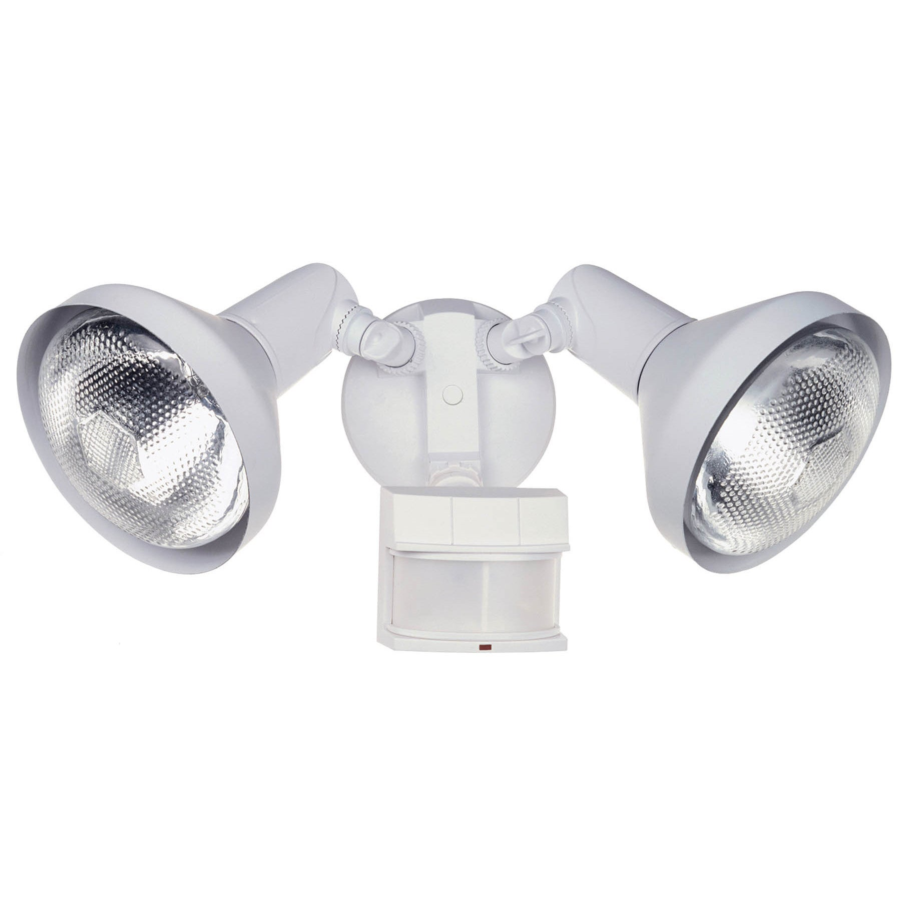 HeathCo Heath Zenith White Metal Security Spotlight Motio...