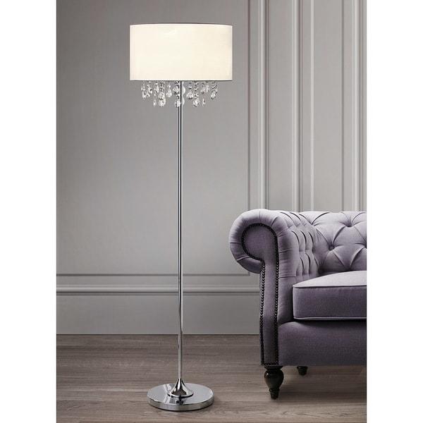 FLORENCE Crystal Pendants Floor Lamp