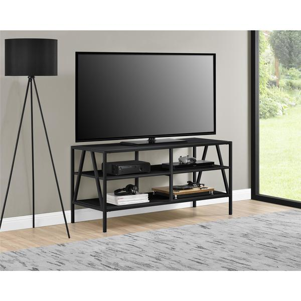 shop novogratz avondale 50 inch tv stand 50 inches free shipping today. Black Bedroom Furniture Sets. Home Design Ideas