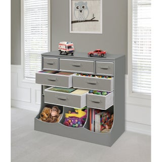 Storage Station with Eight Baskets and Three Bins