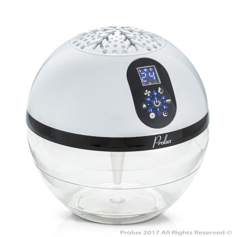 Prolux Water Based Air Purifier Humidifier and Aromatherapy Diffuser with LED Screen