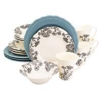 Euro Ceramica Savannah 16-piece Dinnerware Set (Service for 4)