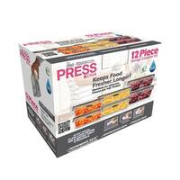 Stor-All Solutions 12 Piece Press & Click Food Storage Set