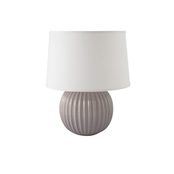 RiverCeramic® Fluted Round Lamp