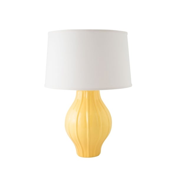 RiverCeramic® Large Fluted Lamp