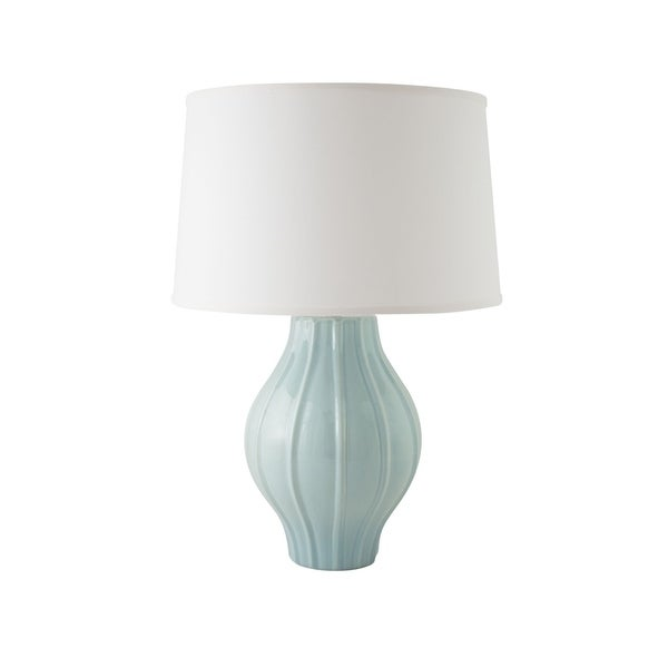 RiverCeramic® Large Fluted Lamp