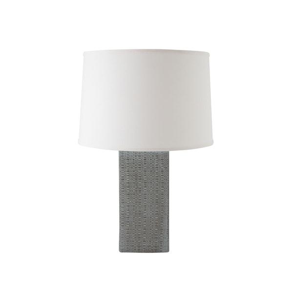 RiverCeramic® Linen Textured Lamp