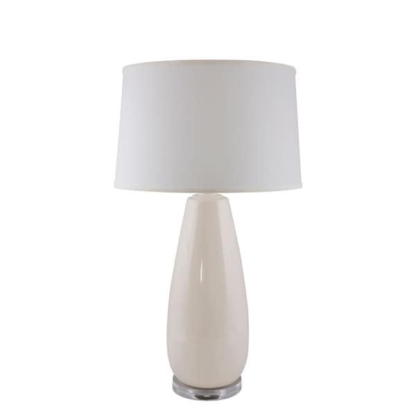 RiverCeramic®Tear Drop lamp with Acrylic Base