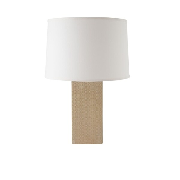 RiverCeramic® Linen Textured Lamp
