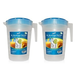 Stor-All Solutions 3L (12.5 Cup) Beverage Pitcher- 2 Pack