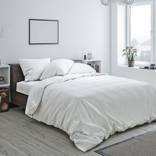 American Colors Brand Heritage Cotton Duvet and Sham set White