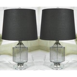 JT Lighting  Recali  Smoke Glass L& Set of 2 ...  sc 1 st  Overstock & JT LIGHTING Lamp Sets For Less | Overstock