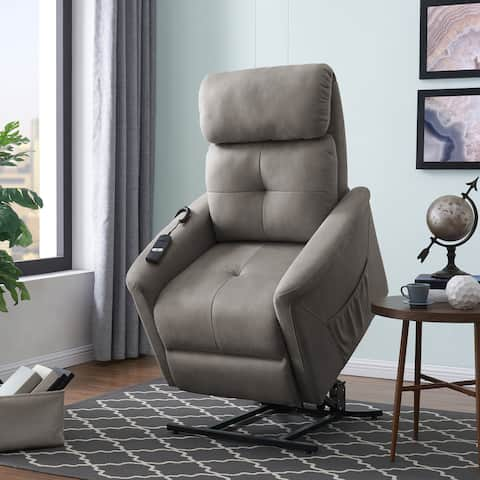 Copper Grove Jessie Grey Power Recline and Lift Chair