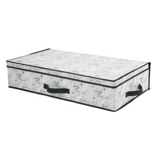 STORAGE BOX UNDERBED 28X16X6-MARBLE