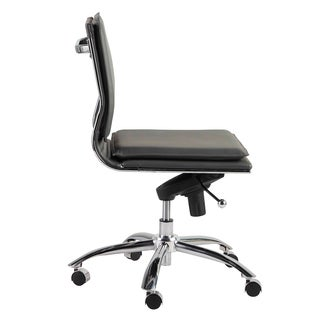 Gunar Pro Low Back Armless Office Chair (3 options available)