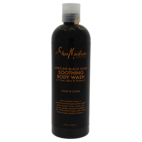 SheaMoisture African Black Soap 13-ounce Soothing Body Wash
