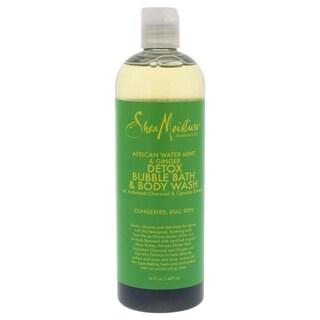 Shea Moisture African Water Mint & Ginger 16-ounce Detox Bubble Bath & Body Wash