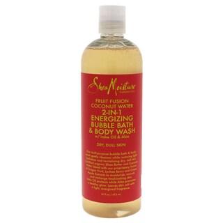 Shea Moisture Fruit Fusion Coconut Water 16-ounce Energizing Bubble Bath & Body Wash
