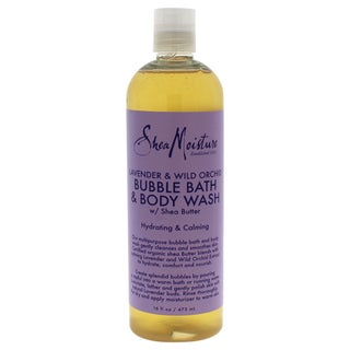 Shea Moisture Lavender & Wild Orchid 16-ounce Bubble Bath & Body Wash
