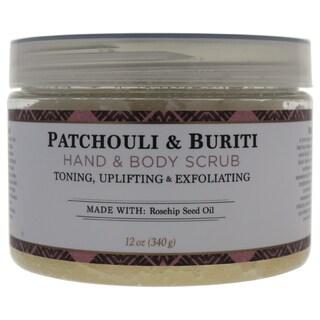 Nubian Heritage 12-ounce Patchouli & Buriti Hand & Body Scrub