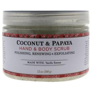 Nubian Heritage 12-ounce Coconut & Papaya Body Scrub