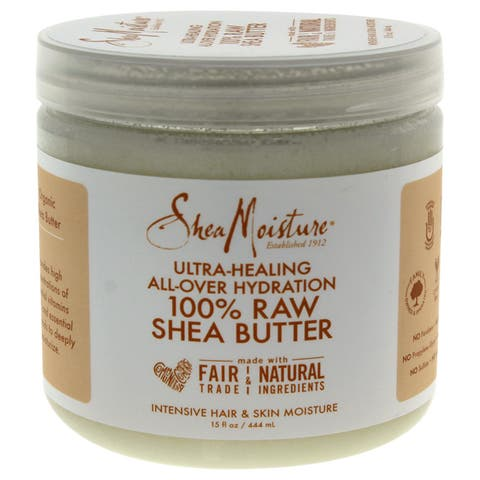 SheaMoisture 100-percent Raw Shea Butter 15-ounce Intensive Hair & Skin Moisture