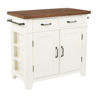 The Curated Nomad LaPaglia Farmhouse Kitchen Island