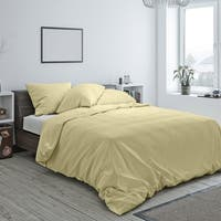 American Colors Brand Heritage Cotton Duvet and Sham Set Wheat