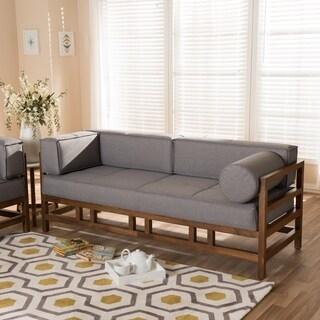 Mid-Century 3-Seater Sofa by Baxton Studio