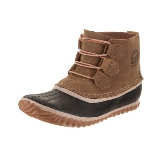 Sorel Women's Out N About Chelsea Brown Nubuck Leather Boot