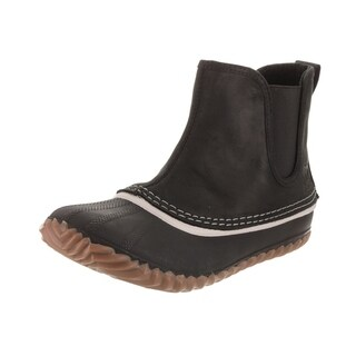 Sorel Women's Out N About Black Leather Chelsea Boot (More options available)