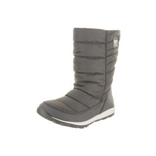 Sorel Women's Whitney Grey Nylon Insulated Mid Boot (More options available)