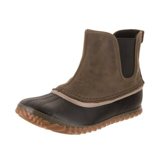 Sorel Women's Out N About Peatmoss Leather Chelsea Boot