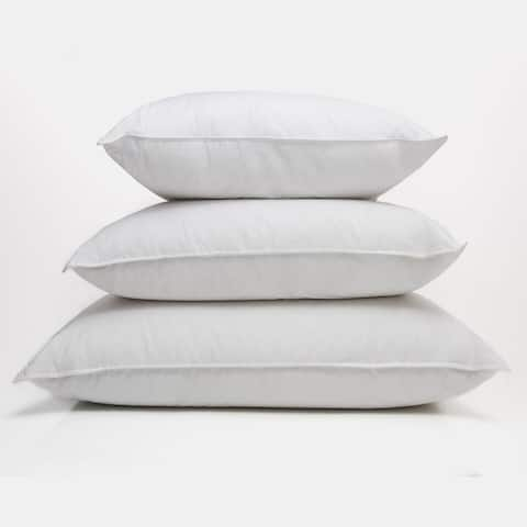 Traditional White Down Sleeping Pillow