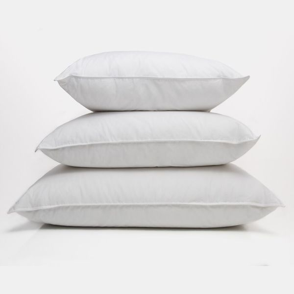Traditional 100-percent White Down Medium Pillow