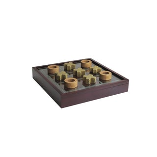 Elle Decor Tic Tac Toe With Wooden Box
