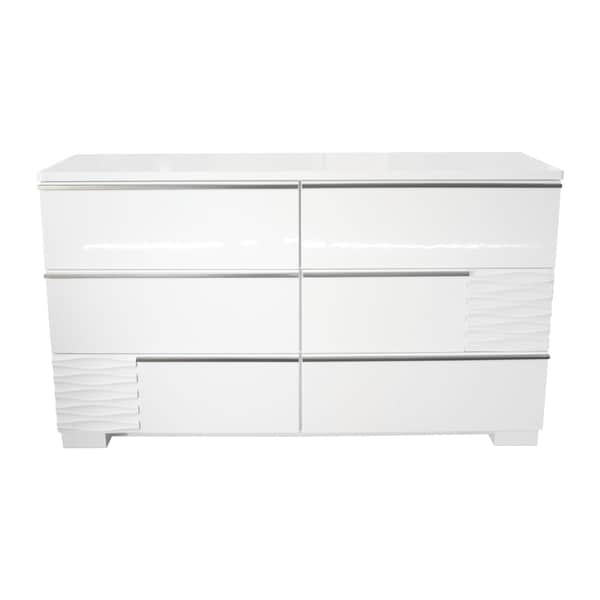 Cheap Furniture Stores Online Free Shipping: Shop Best Master Furniture Athens White Bedroom Dresser