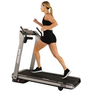 Asuna SpaceFlex Motorized Running Treadmill with Auto Incline, Wide Treadmill, Space-saving Folding