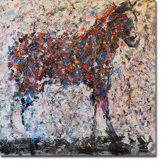 Horse III by Joseph Marshal Gallery-Wrapped Canvas Giclee Art