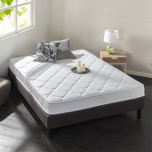 Priage 6 Inch Hybrid Spring and Gel Memory Foam Mattress Twin