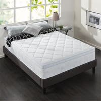 Priage 12 Inch Hybrid Spring and Gel Memory Foam Mattress Twin