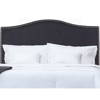 Handy Living Noleta Blue River Velvet Full/Queen Upholstered Headboard