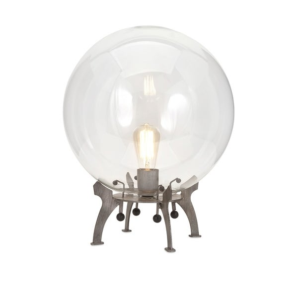 Oversized Glass Table Lamp