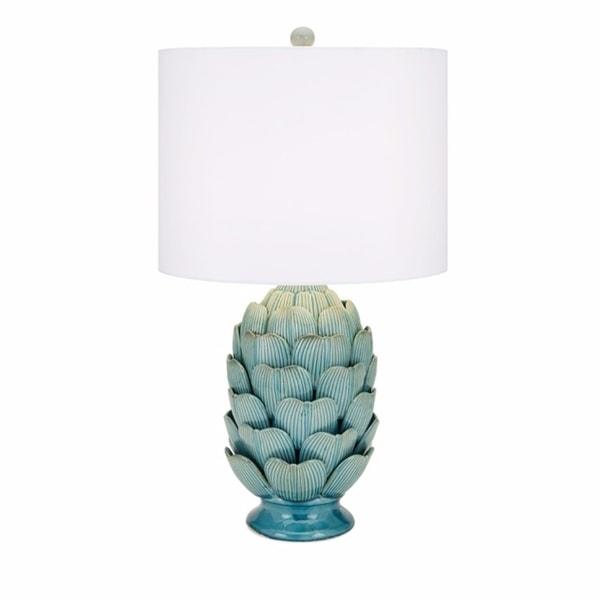 Dimensional Ceramic Table Lamp