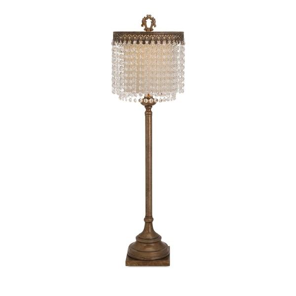 Classy Crystal Beaded Table Lamp