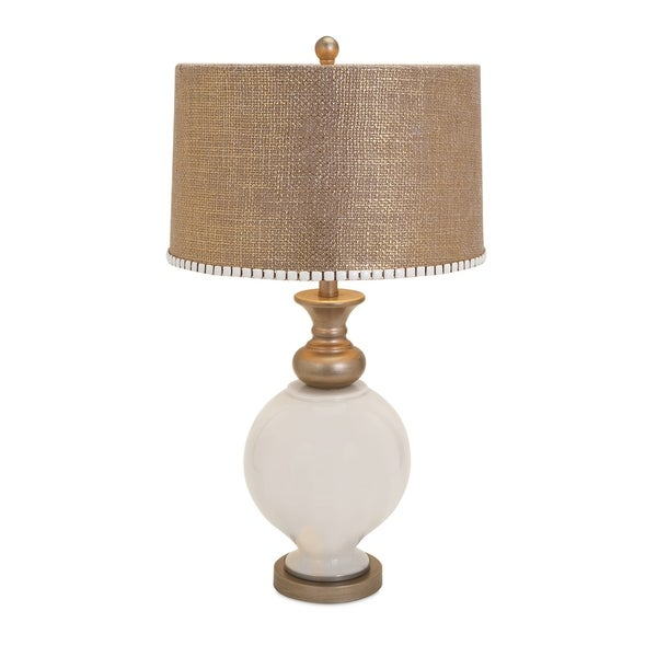 Smartly Styled Glass Lamp