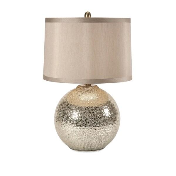 Modern Mercury Glass Lamp