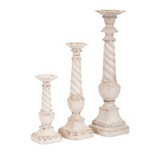 Stunning Decorative Candleholders - Set of 3