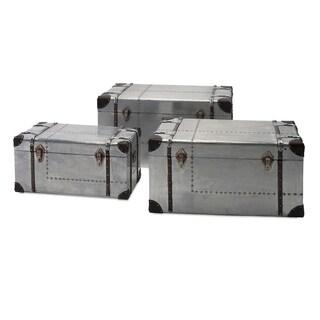Brewer Aluminum Trunks - Set of 3 - gray