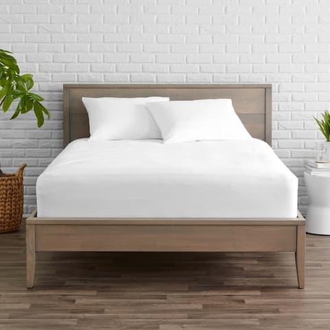 Bare Home Terry Cotton Mattress Protector & Pillow Protector Bundle